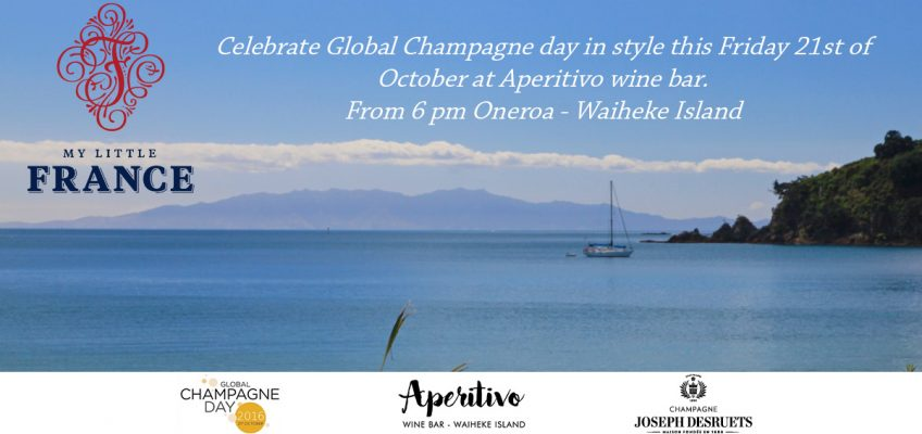 Global Champagne Day 2016